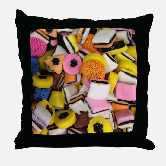 Cute Dorm room Throw Pillow