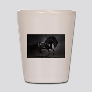 Dark Horse Shot Glass