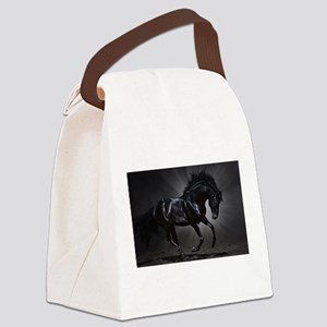 Dark Horse Canvas Lunch Bag