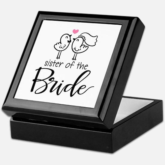 Sister of the Bride Keepsake Box