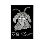 Old Goat Him Rectangle Magnet (100 pack)
