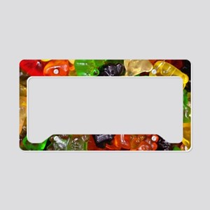 cute gummy bears License Plate Holder