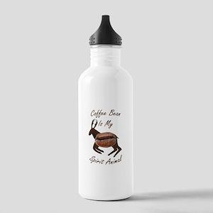 Coffee Bean Spirit Animal Water Bottle