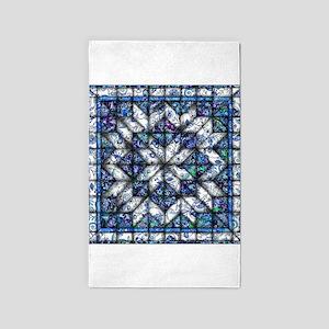 blue onion quilt Area Rug
