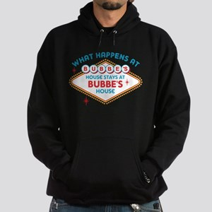 Las Vegas Stays At Bubbe's Hoodie (dark)