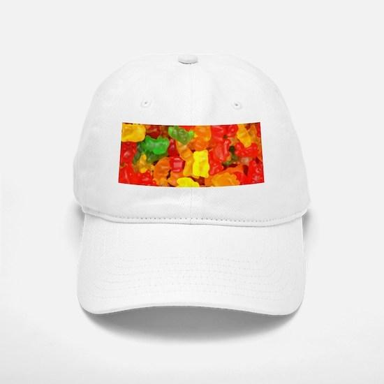 vintage gummy bears Baseball Baseball Cap