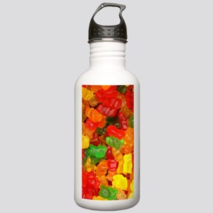 vintage gummy bears Stainless Water Bottle 1.0L