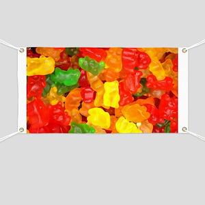 38e627397ea068 Gummy Bear Banners - CafePress