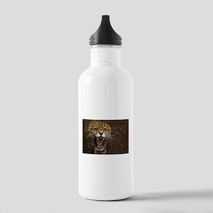 Growling Jaguar Water Bottle