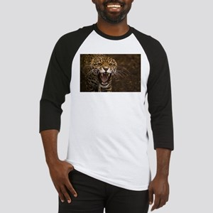 Growling Jaguar Baseball Jersey