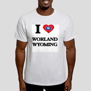 I love Worland Wyoming T-Shirt