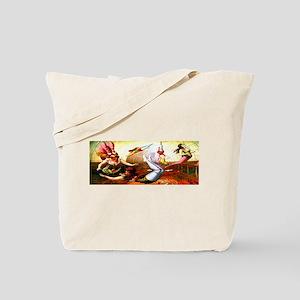 Trapeze Girls Tote Bag