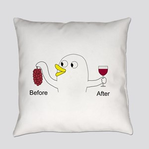 Wine Maker Everyday Pillow