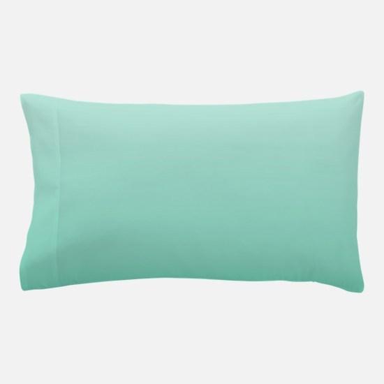beach seafoam ombre Pillow Case