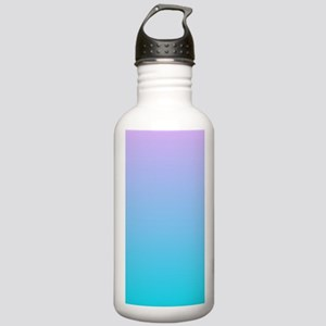 purple turquoise ombre Stainless Water Bottle 1.0L