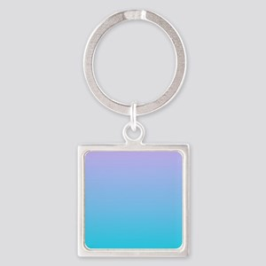 purple turquoise ombre Keychains