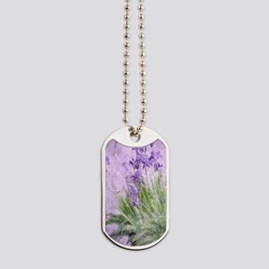 Purple Irises Dog Tags