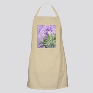 Purple Irises Apron