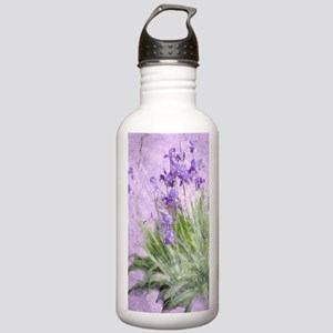 Purple Irises Stainless Water Bottle 1.0L