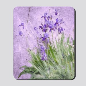 Purple Irises Mousepad