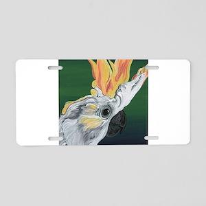 Cockatoo Parrot Aluminum License Plate