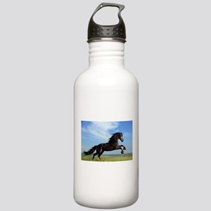 Black Horse Running Water Bottle