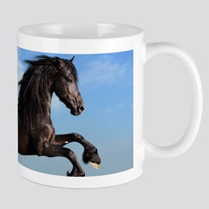 Black Horse Running Mugs