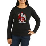 Mare Family Crest Women's Long Sleeve Dark T-Shirt