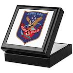 USS JAMES K. POLK Keepsake Box