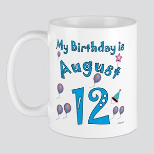 August 12th Birthday Mug