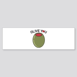 Olive You Sticker (Bumper)