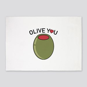 Olive You 5 X7 Area Rug