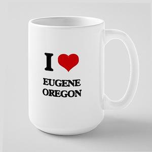 I love Eugene Oregon Mugs