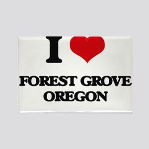 I love Forest Grove Oregon Magnets