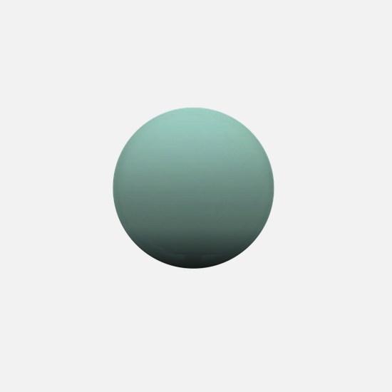 teal seafoam ombre Mini Button