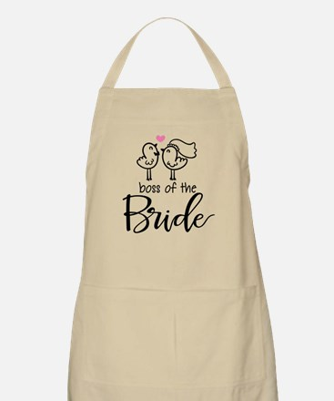 Boss of the bride Apron