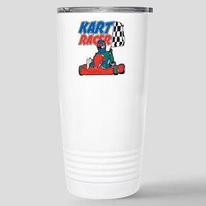 Kart Racer Stainless Steel Travel Mug