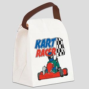 Kart Racer Canvas Lunch Bag