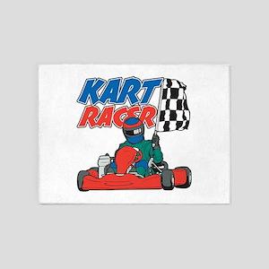 Kart Racer 5'x7'Area Rug