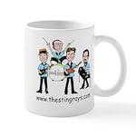 Coffee w/the Band mug - StingRays Cartoon
