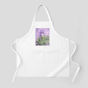 Purple Irises Apron