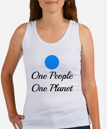 One People One Planet Women's Tank Top
