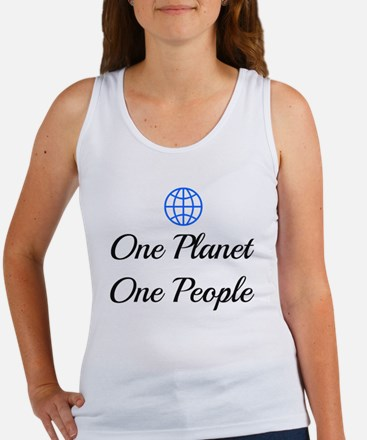 One Planet One People Women's Tank Top