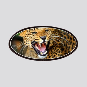 Growling Leopard Patch