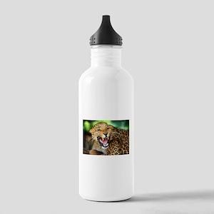 Growling Leopard Water Bottle