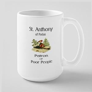 St. Anthony of Padua Large Mug