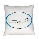 Fun and Sun in Palm Springs Everyday Pillow