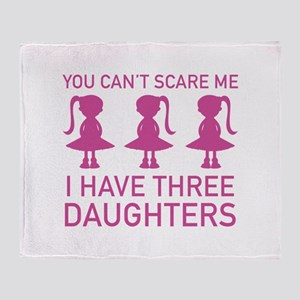 I Have Three Daughters Stadium Blanket