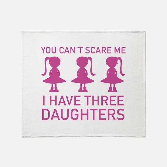 I Have Three Daughters Stadium Blanket
