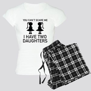 I Have Two Daughters Women's Light Pajamas